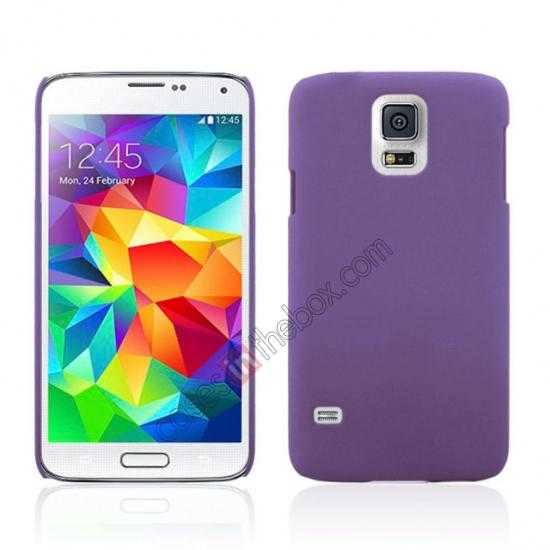 wholesale Hybrid Hard PC Case Cover For Samsung Galaxy S5 - Purple