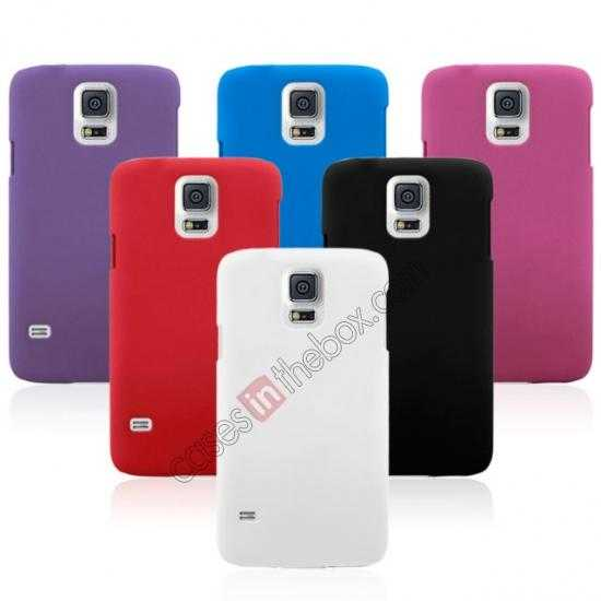 best price Hybrid Hard PC Case Cover For Samsung Galaxy S5 - Purple