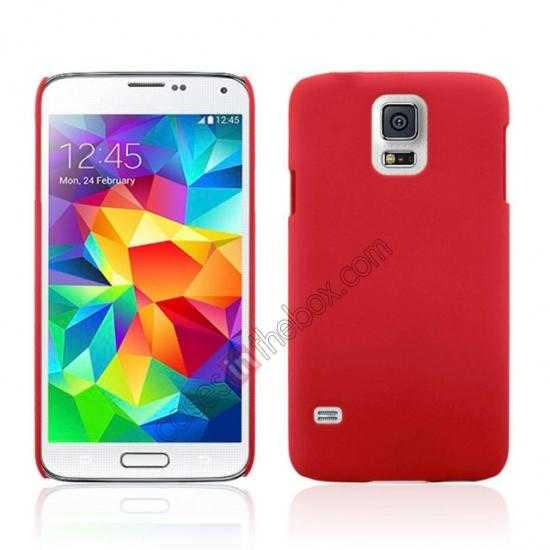 wholesale Hybrid Hard PC Case Cover For Samsung Galaxy S5 - Red