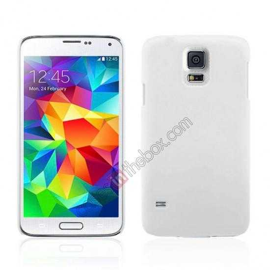 wholesale Hybrid Hard PC Case Cover For Samsung Galaxy S5 - White