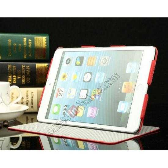 best price K-cool Ultra Thin Slim Leather Stand Case for iPad Mini 2 Retina - White