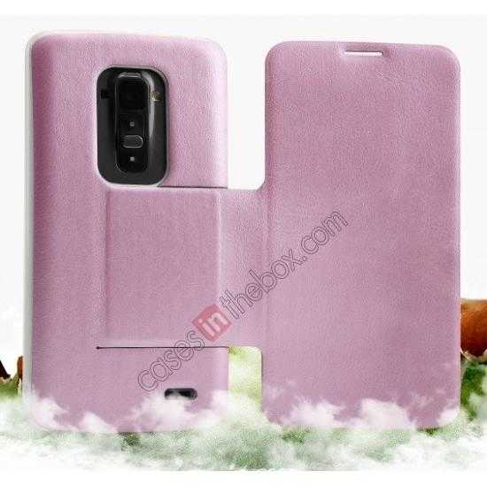 discount Kalaideng Swift Series Side Flip Leather Stand Case for LG G Flex (D958)