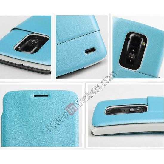 high quanlity Kalaideng Swift Series Side Flip Leather Stand Case for LG G Flex (D958)