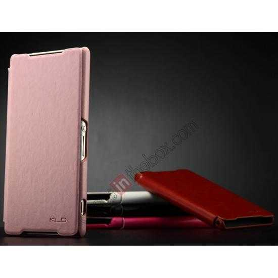 f1504c505cf3 Best Suggestions for Flip Cover For Sony Xperia Z2 (Pink)
