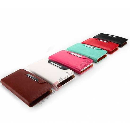 china wholesale KLD Fresh Style Wallet Stand Folio Leather Case Cover for Samsung Galaxy S5