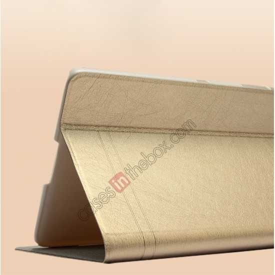 cheap KLD KA Series Leather Stand Case for Samsung Galaxy Tab Pro 8.4 T320 - Beige