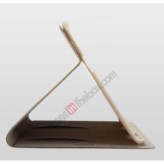 best price KLD KA Series Leather Stand Case for Samsung Galaxy Tab Pro 8.4 T320 - Coffee