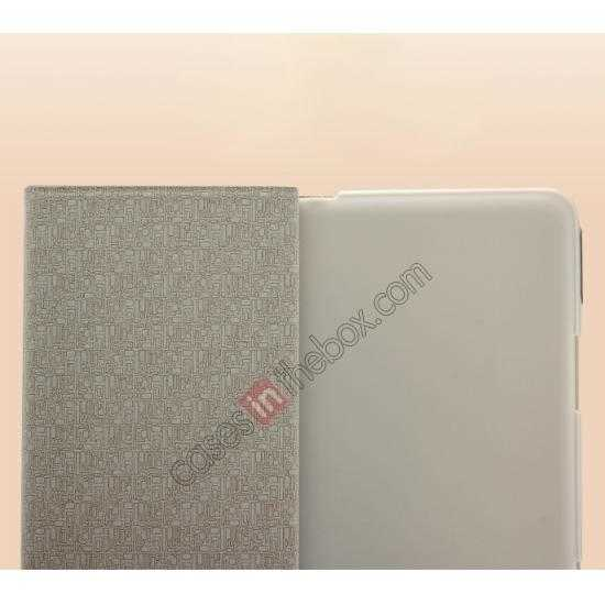 top quality KLD KA Series Leather Stand Case for Samsung Galaxy Tab Pro 8.4 T320 - Dark Grey