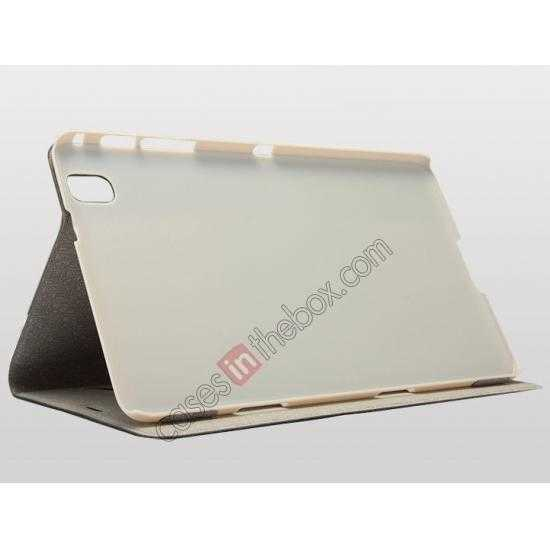 low price KLD KA Series Leather Stand Case for Samsung Galaxy Tab Pro 8.4 T320 - Dark Grey