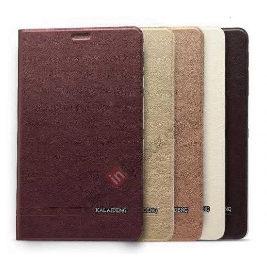 high quanlity KLD KA Series Leather Stand Case for Samsung Galaxy Tab Pro 8.4 T320 - Wine Red
