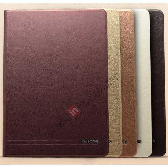 high quanlity KLD KA Series Ultra-thin Leather Stand Case for Samsung Galaxy Tab Pro 12.2 P900 - Coffee