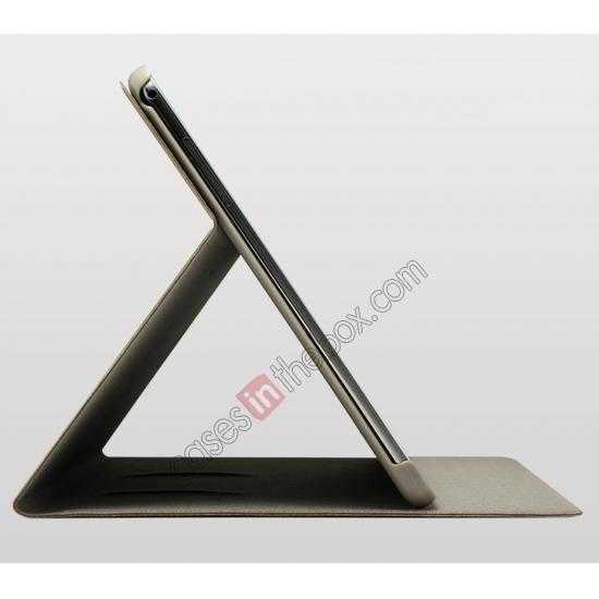 on sale KLD KA Series Ultra-thin Leather Stand Case for Samsung Galaxy Tab Pro 12.2 P900 - Dark Grey
