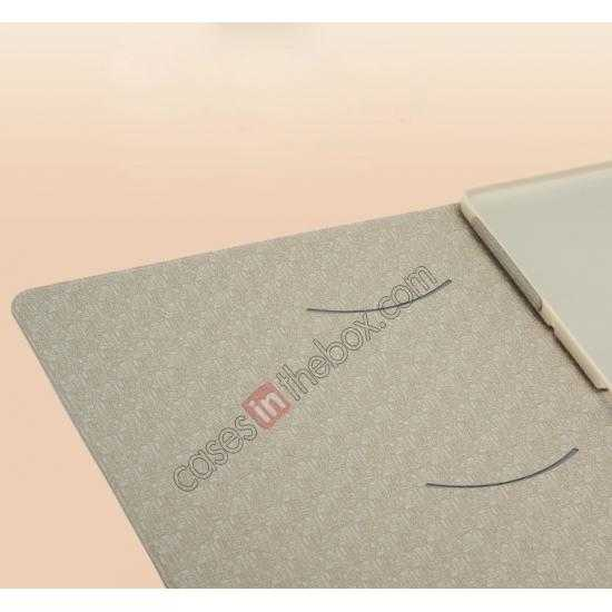 top quality KLD KA Series Ultra-thin & Ultra-light Leather Stand Case for Samsung Galaxy Tab Pro 10.1 T520 - Beige