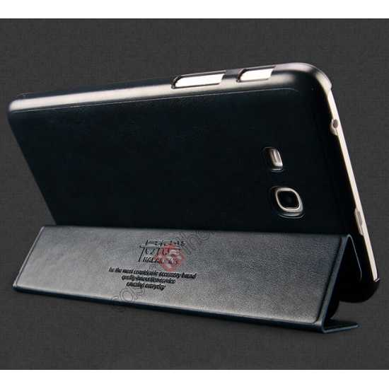 on sale KLD Oscar Series Tri Folded Leather Stand Case for Samsung Galaxy Tab 3 Lite 7 T110 - Coffee