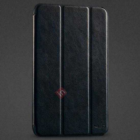 wholesale KLD Oscar Series Tri Folded Leather Stand Case for Samsung Galaxy Tab 3 Lite 7 T110 - Navy Blue