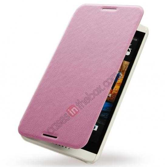 discount KLD Swift Series Flip PU Stand Leather Cover Case for HTC Desire 816