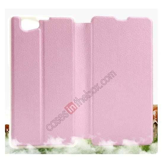 cheap KLD Swift Series Flip Thin Stand PU Leather Case for Sony Xperia Z1 Mini M51w