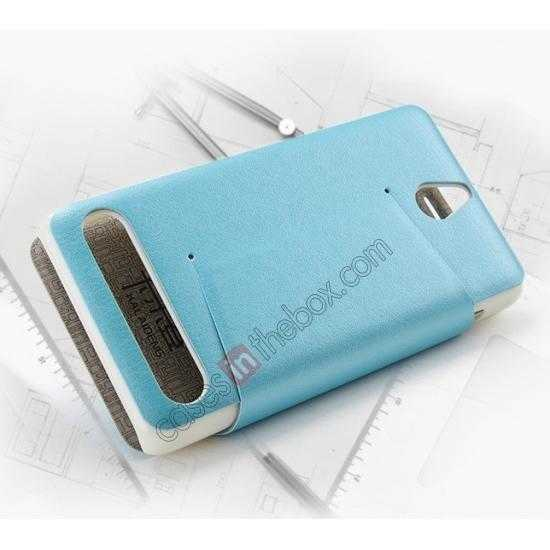 top quality KLD Swift Series Flip Thin Stand PU Leather Stand Case for Sony Xperia E1