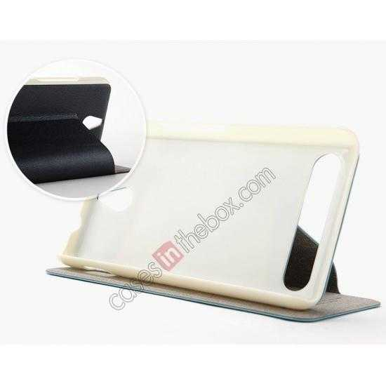 on sale KLD Swift Series Flip Thin Stand PU Leather Stand Case for Sony Xperia E1