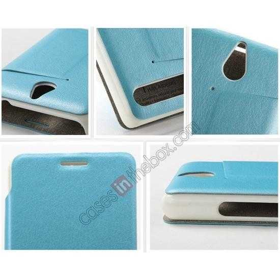 low price KLD Swift Series Flip Thin Stand PU Leather Stand Case for Sony Xperia E1
