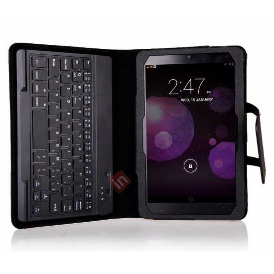 on sale Leather Stand Case Cover + Wireless Bluetooth 3.0 Keyboard For Dell Venue 8 Pro Windows 8.1