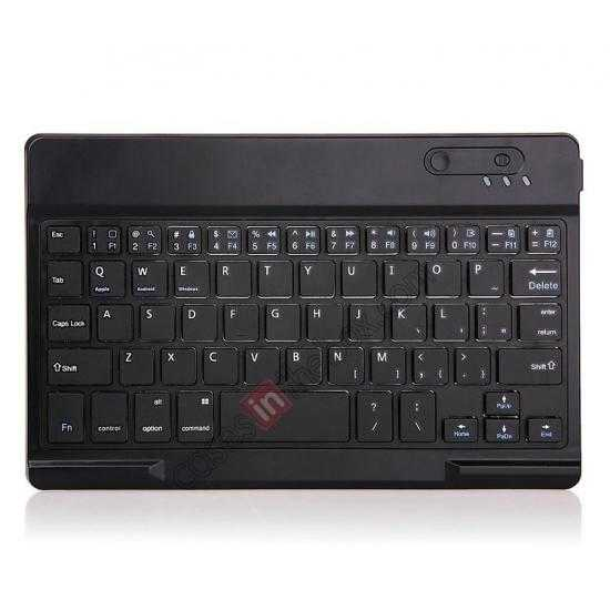 low price Leather Stand Case Cover + Wireless Bluetooth 3.0 Keyboard For Dell Venue 8 Pro Windows 8.1