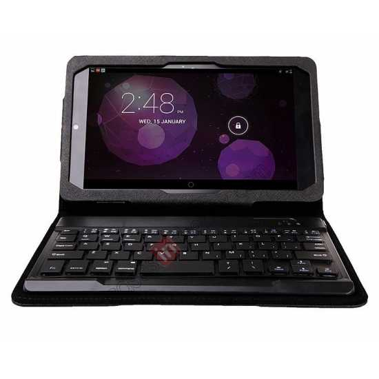 cheap Leather Stand Case Cover + Wireless Bluetooth 3.0 Keyboard For Dell Venue 8 Pro Windows 8.1