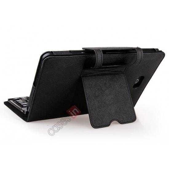 top quality Leather Stand Case Cover + Wireless Bluetooth 3.0 Keyboard For Dell Venue 8 Pro Windows 8.1