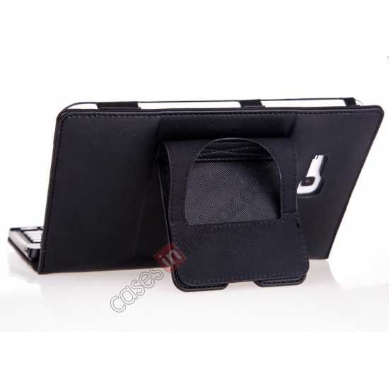 on sale Leather Stand Case Cover + Wireless Bluetooth 3.0 Keyboard For Samsung Galaxy Tab3 Lite7/T110