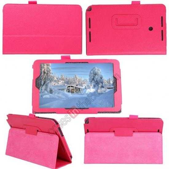 discount Litchi Pattern Leather Stand Case Cover for ASUS VivoTab Note8 M80TA