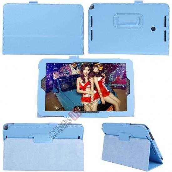 cheap Litchi Pattern Leather Stand Case Cover for ASUS VivoTab Note8 M80TA