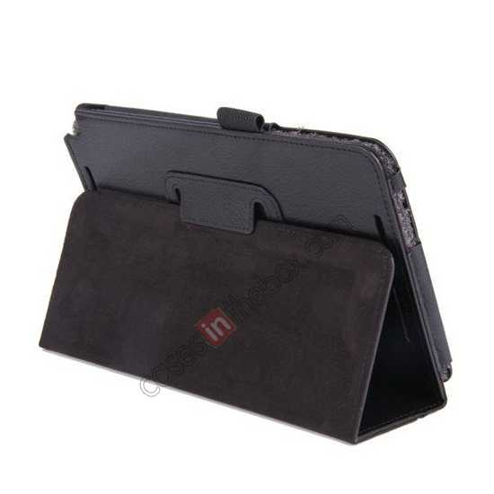 low price Litchi Pattern Leather Stand Case Cover for ASUS VivoTab Note8 M80TA