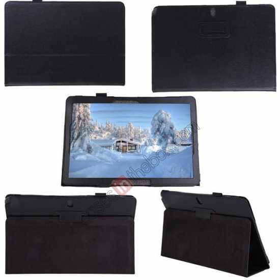 top quality Litchi Pattern Leather Stand Case Cover for Samsung Galaxy Tab Pro 12.2 P900