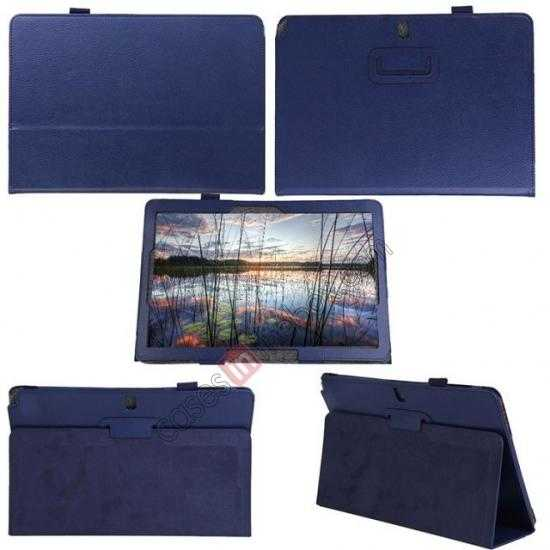 best price Litchi Pattern Leather Stand Case Cover for Samsung Galaxy Tab Pro 12.2 P900