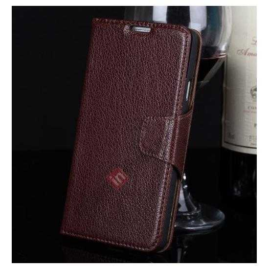 shop for note 3 case,wholesale Luxury Head Layer Cowhide Genuine Leather Case for Samsung Galaxy Note 3 III N9000 - Wine Red