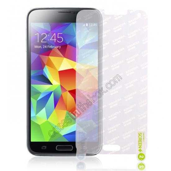 wholesale Momax Crystal Clear Screen Protector for Samsung Galaxy S5