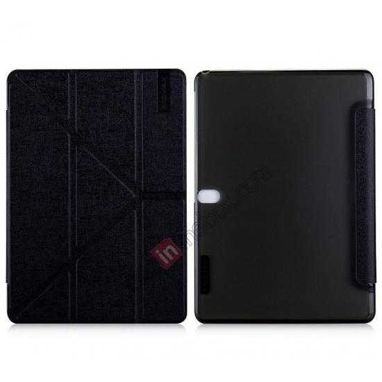 wholesale MOMAX Flip Cover Leather Stand Case For Samsung Galaxy Tab Pro 10.1 T520 - Black