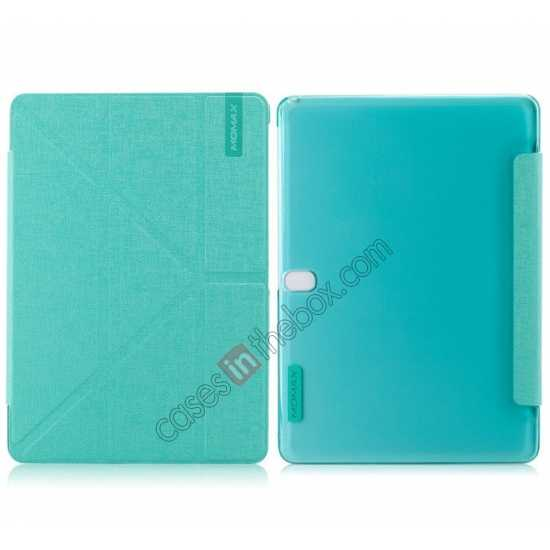 wholesale MOMAX Flip Cover Leather Stand Case For Samsung Galaxy Tab Pro 10.1 T520 - Light Blue
