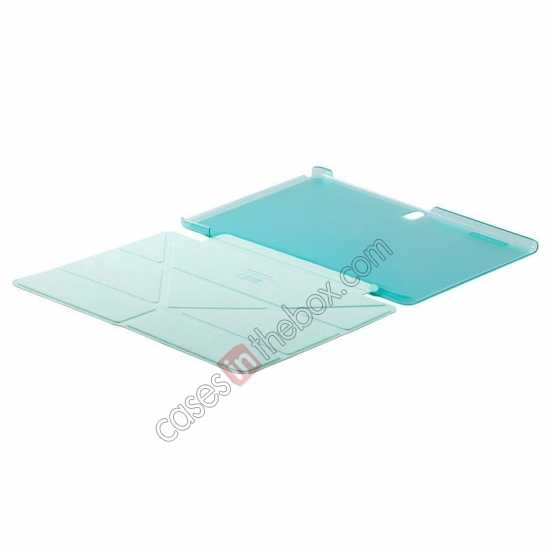 discount MOMAX Flip Cover Leather Stand Case For Samsung Galaxy Tab Pro 10.1 T520 - Light Blue