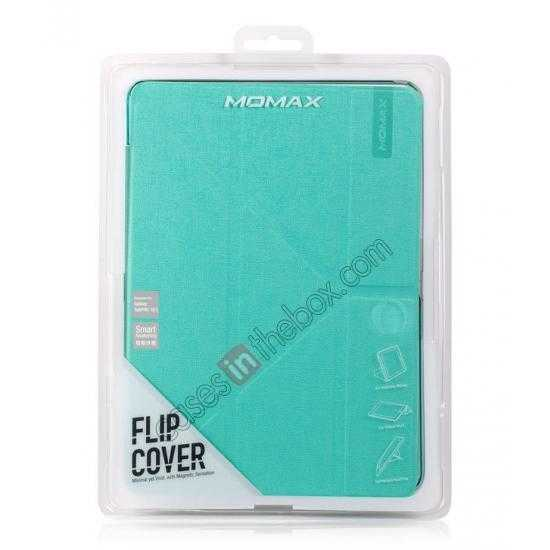 cheap MOMAX Flip Cover Leather Stand Case For Samsung Galaxy Tab Pro 10.1 T520 - Light Blue