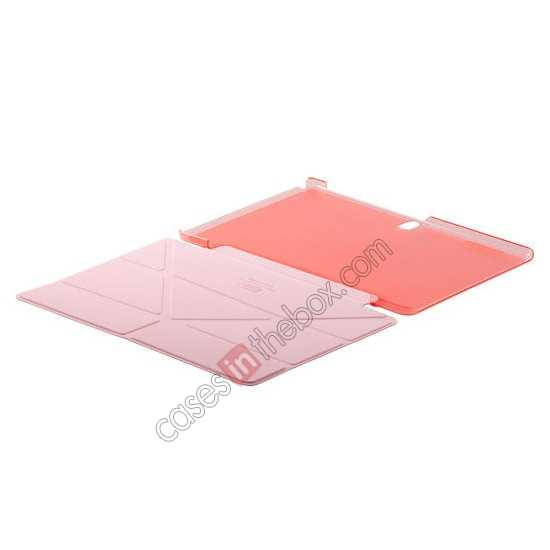 discount MOMAX Flip Cover Leather Stand Case For Samsung Galaxy Tab Pro 10.1 T520 - Pink