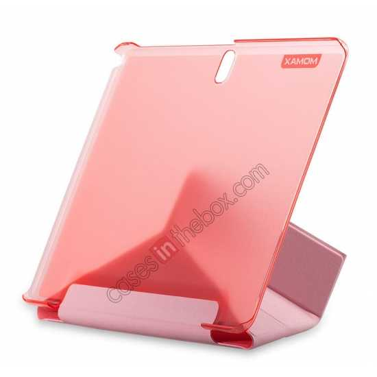 cheap MOMAX Flip Cover Leather Stand Case For Samsung Galaxy Tab Pro 10.1 T520 - Pink