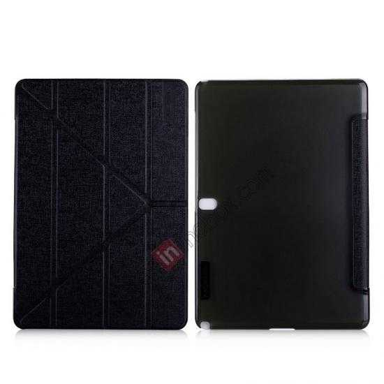 wholesale MOMAX Flip Cover Leather Stand Case For Samsung Galaxy Tab Pro 12.2 P900 - Black