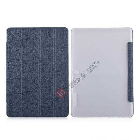 wholesale MOMAX Flip Cover Leather Stand Case For Samsung Galaxy Tab Pro 12.2 P900 - Silver Grey