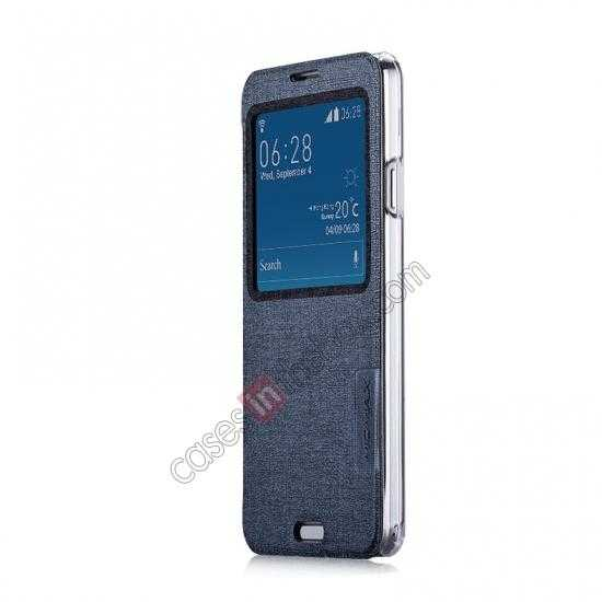 discount Momax Flip View Window Leather Case for Samsung Galaxy Note 3 - Grey
