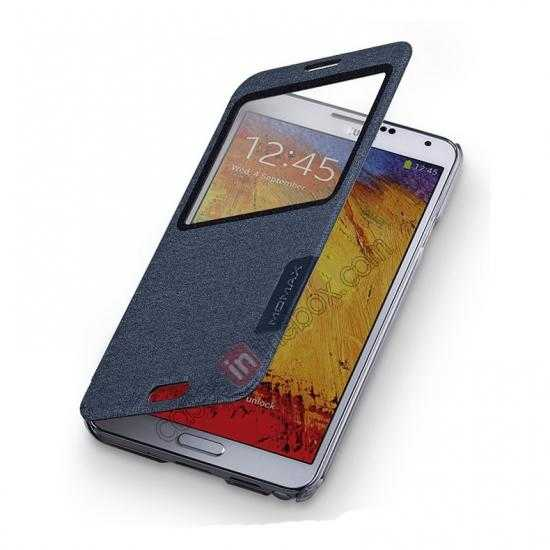on sale Momax Flip View Window Leather Case for Samsung Galaxy Note 3 - Grey