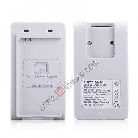 discount Momax For Samsung Galaxy Note 3 Battery Charger + 3200mAh Battery