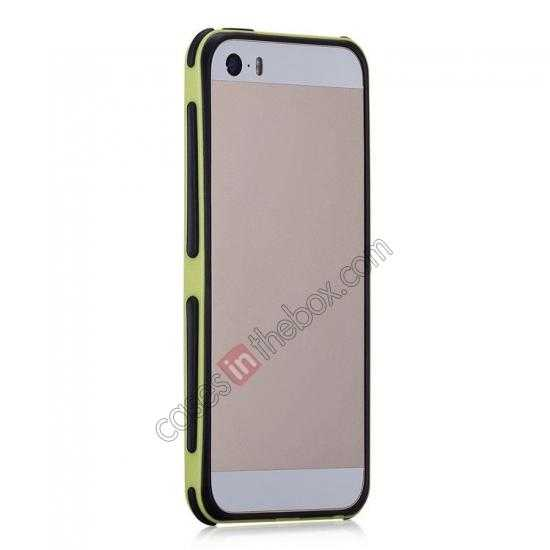 discount Momax Slender PC+TPU Bumper for Apple iPhone 5S/5 - Yellow