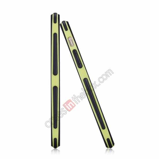 cheap Momax Slender PC+TPU Bumper for Apple iPhone 5S/5 - Yellow
