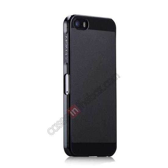 cheap Momax Ultra Thin Series Clear Breeze Case Cover for iPhone 5S - Black